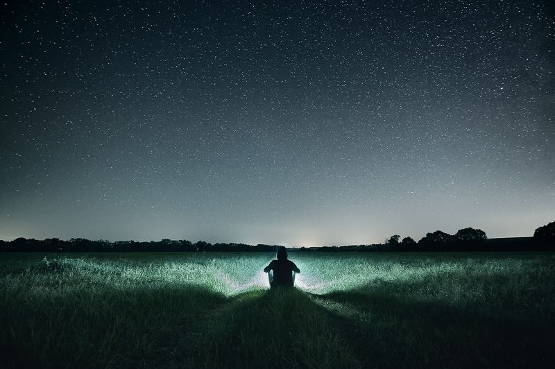 звезды ночь ночное фото Гармонияphoto preview