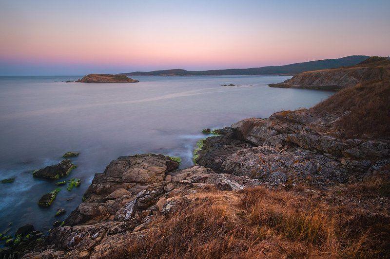 Bulgaria, Болгария, вечер, Свети Тома, Black sea, Dunes, Saint Thomas, island, long exposure St.Thomas Islandphoto preview