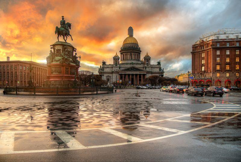 Санкт-Петербург. Исаакиевская площадь...photo preview