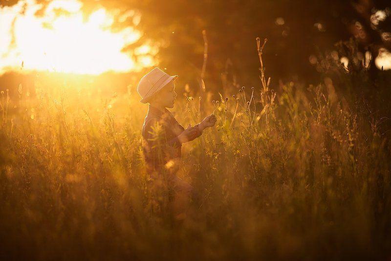 детство закат свет вечер портрет Воспоминания из детстваphoto preview