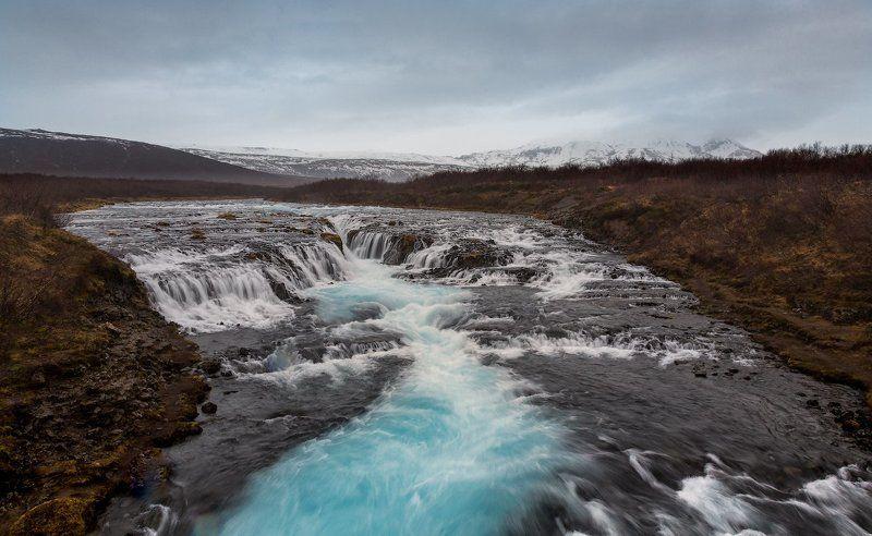 Bruarfoss, Iceland, водопад Водопад Bruarfossphoto preview