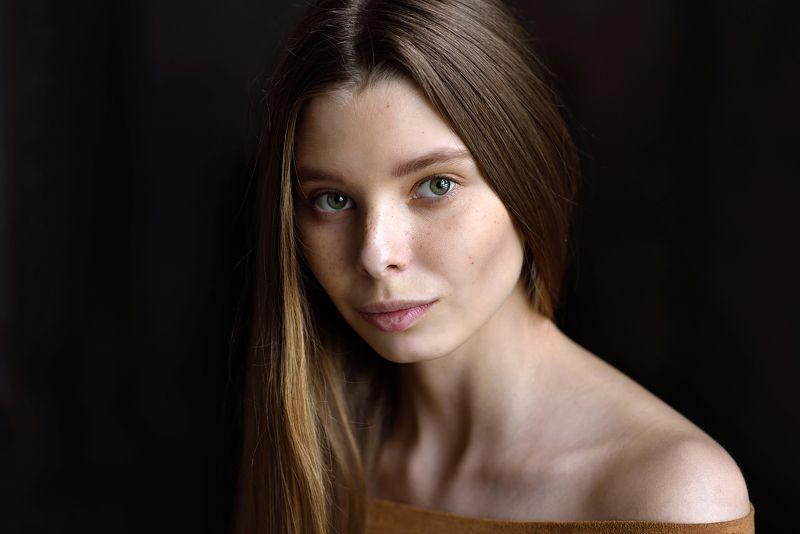 портрет, portrait, 85mm, nikon Вероникаphoto preview