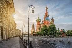 Собор Василия Блаженного утром