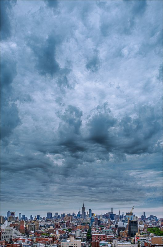 new york, sky, usa, empire state building, нью-йорк, небо, сша, эмпайер-стейт-билдинг [new york skyscape]photo preview