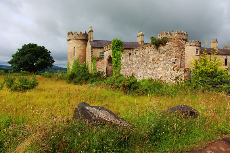 замок   ирландия пейзаж Старый замок.photo preview