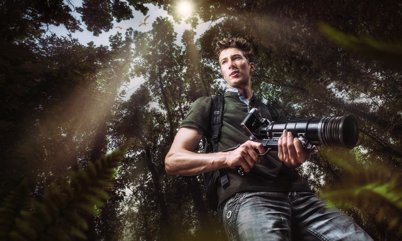 бобруйские джунгли, фоторужье, фото-снайпер, натуралист, поиски сокровищ, искатель, лес, птеродактиль, затерянный мир, исследователь, Искатели сокровищ: Навстречу неизведанномуphoto preview