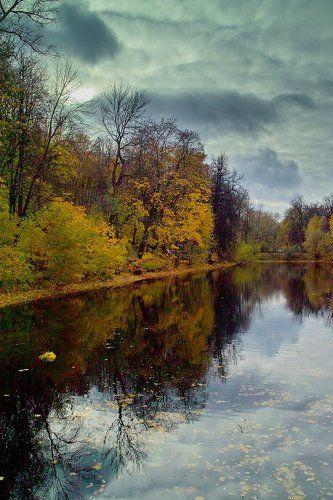 Осень на Андреевских прудах