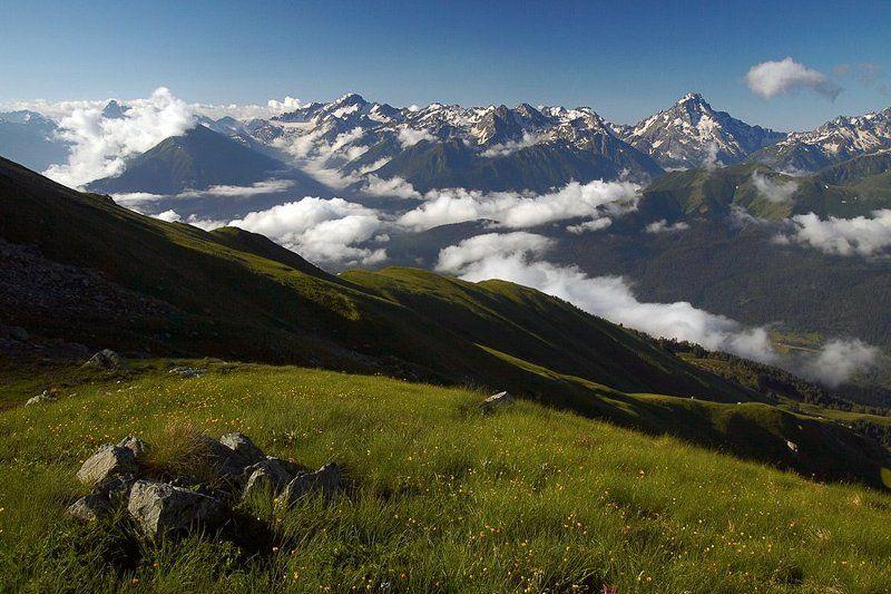 Вид на долину Архыза.photo preview