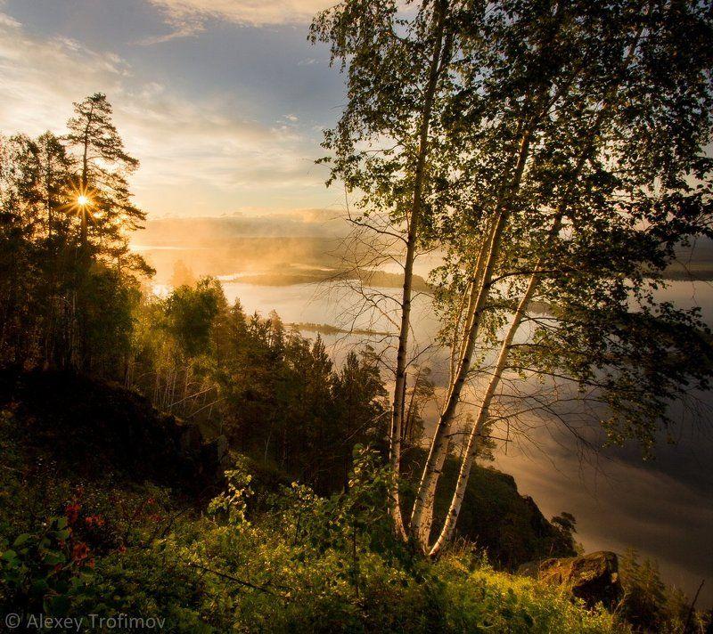 Рассвет на Ангареphoto preview