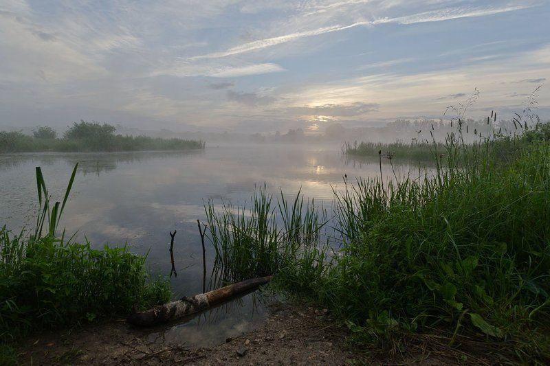 лето, рассвет, природа, пейзаж Этот снимок про дальний рассветphoto preview