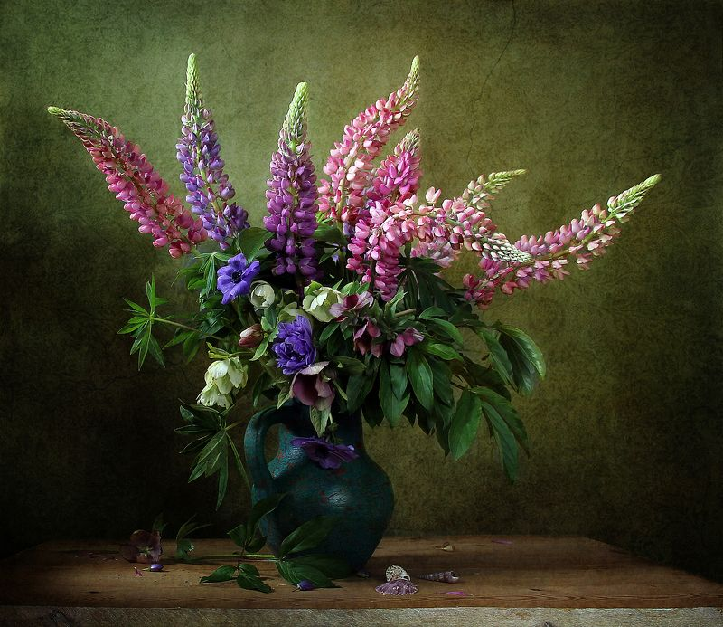 натюрморт, цветы, марина филатова Закружили ароматомphoto preview