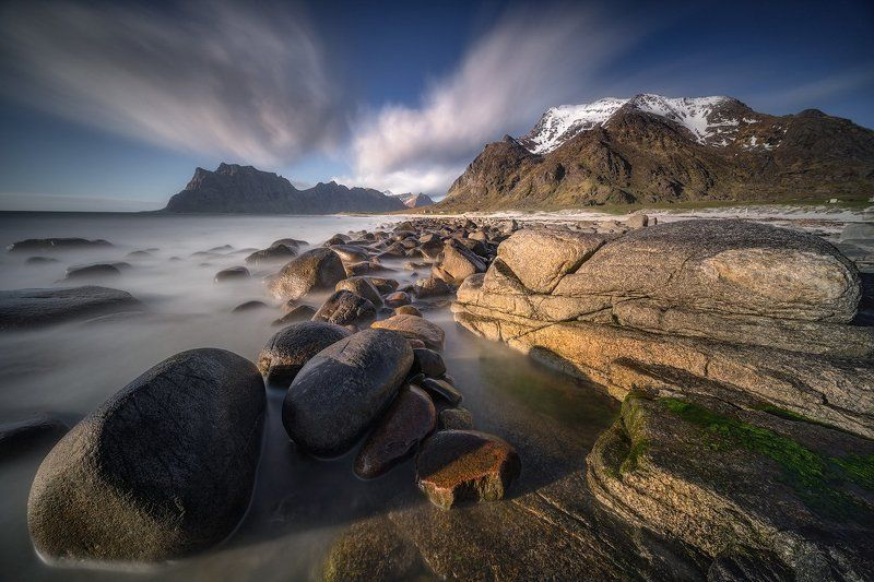 algae, beach, blue, cliff, clouds, green, landscape, lofoten, lofoten islands, long time exposure, mountain, nature, nopeople, norway, outdoors, rock, scandinavia, sea, seashore, shore, sky, uttakleiv beach, utttakleiv, warterbasin, water, wave Uttakleiv Beach IIphoto preview