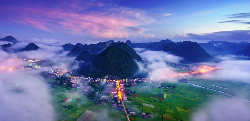 Viet nam  Sunrise in Bac Sonphoto preview