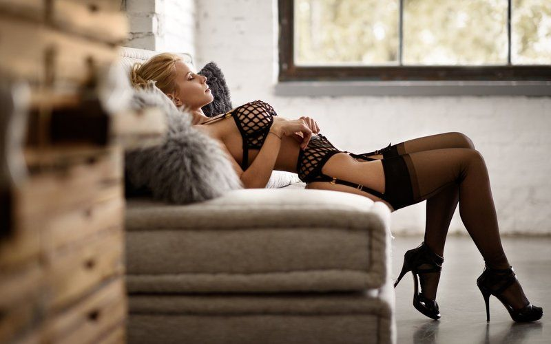 Fashion, Stockings, High Heels, Agent Provocateur,  Christiane... photo preview