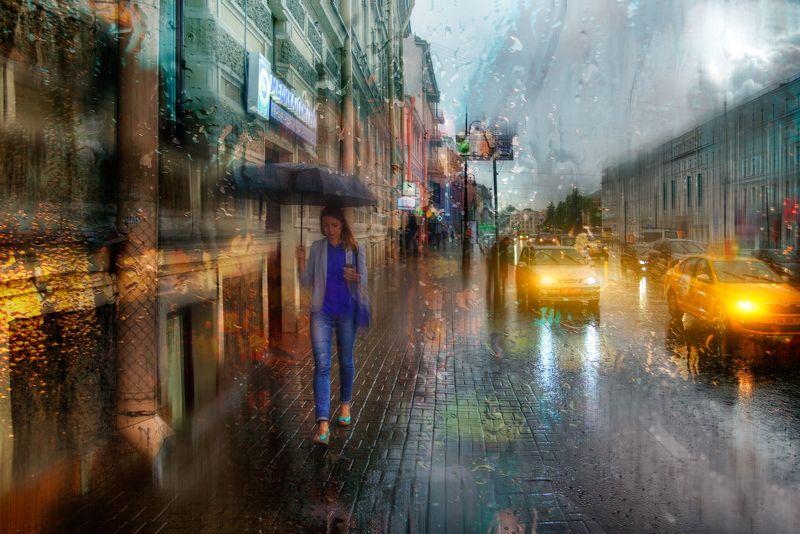 дождь в Санкт-Петербурге...photo preview