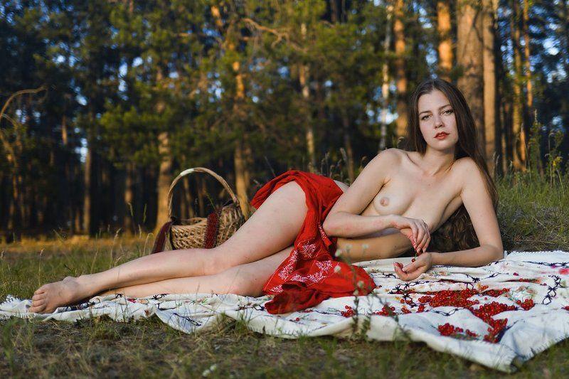 fine, art, nude Червона рута :)photo preview