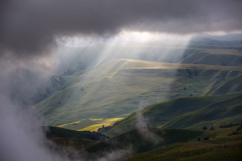 крачаево-черкесия ,кчр ,горы,    перевал  гум-баши Перевал Гум-баши...photo preview