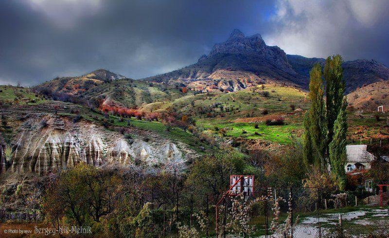 россия, крым, алушта, горы, зеленогорье Горный баскетбол в Крымуphoto preview
