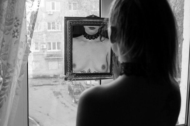 арт, ню, art-nude, nude, bw-nude, fine-art-nude, estetmf, saratov, mirror **photo preview