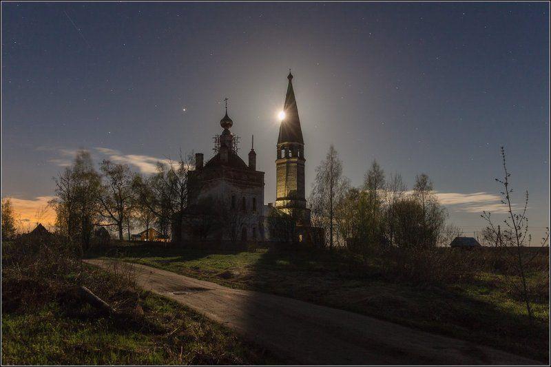 Россия, Ивановская обл, Шухомош Когда светит лунаphoto preview