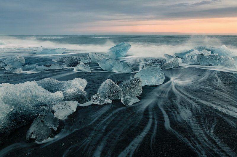 Исландия.  Исландский берегphoto preview