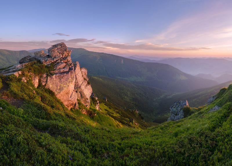 карпаты, черногорский хребет, гора ушастый камень photo preview