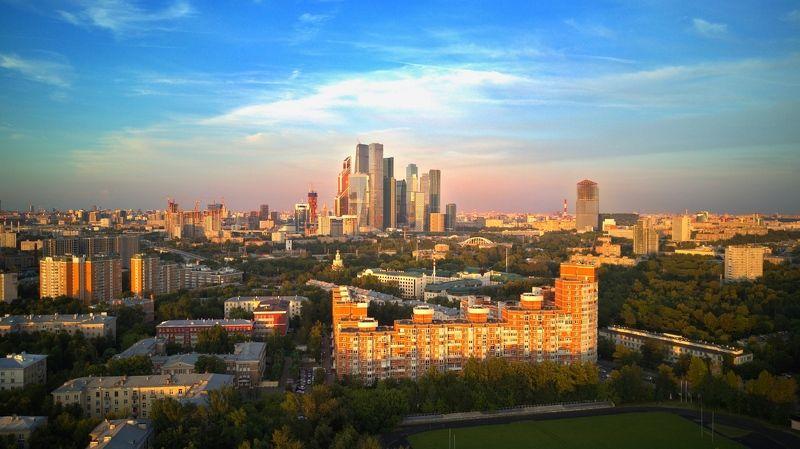 аэрофото Филевский парк в сторону Ситиphoto preview