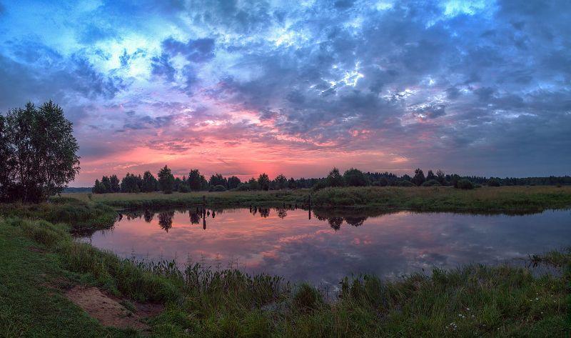 Утро на озере Медномphoto preview