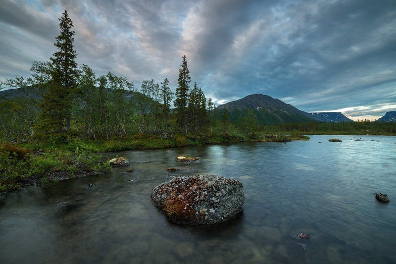 хибины, лето, кольский, заполярье, север, ночь, полярный день, Северный бриз.photo preview