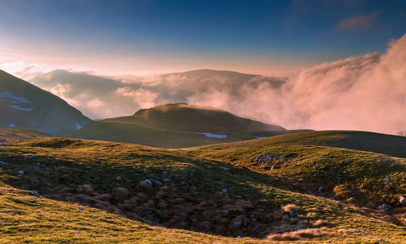 Закат, изгибы... облакаphoto preview