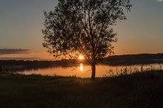 Закат на р.Даугава