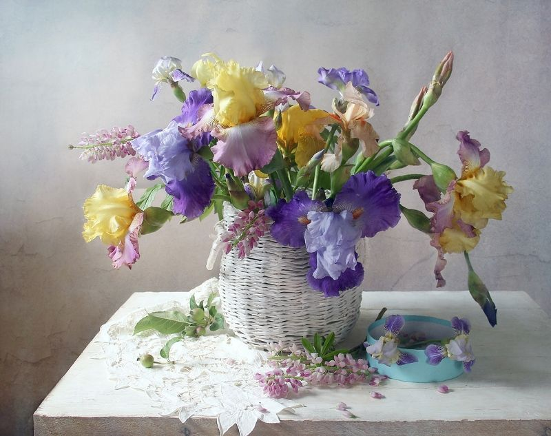 натюрморт, цветы, марина филатова photo preview
