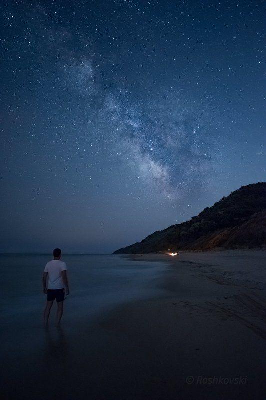 Summer night at Irakli beachphoto preview