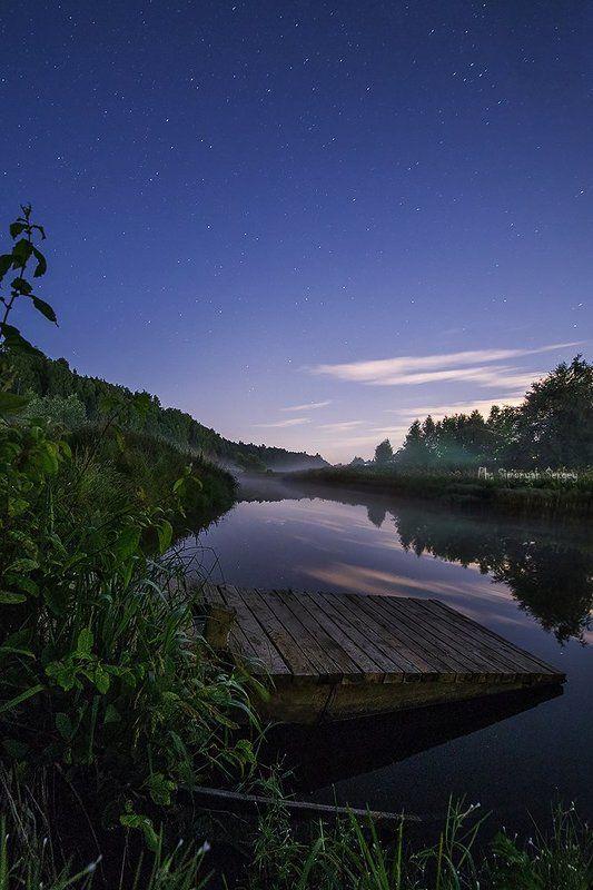 Ночной пейзажphoto preview