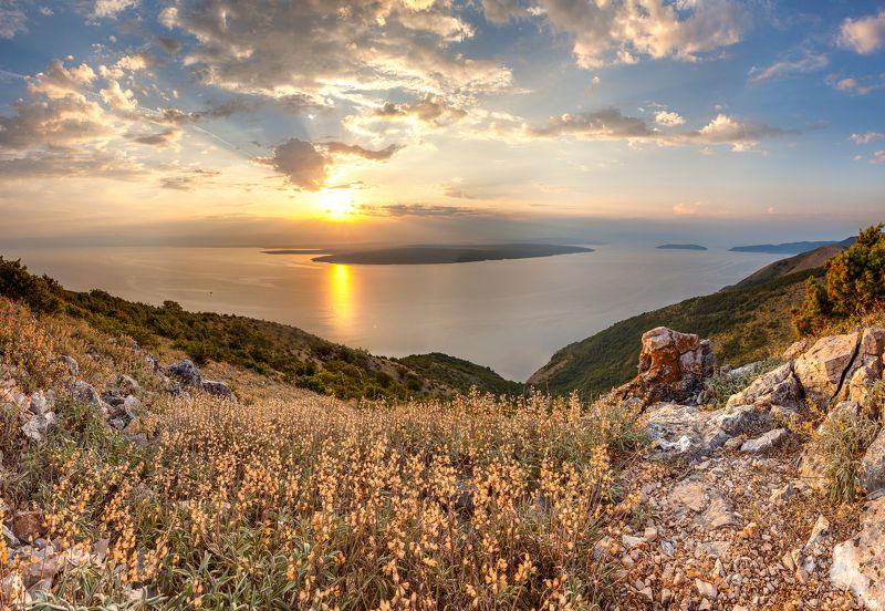 croatia, landscape, panorama Chersophoto preview
