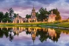 Крестовоздвиженский храм в Алтуфьево