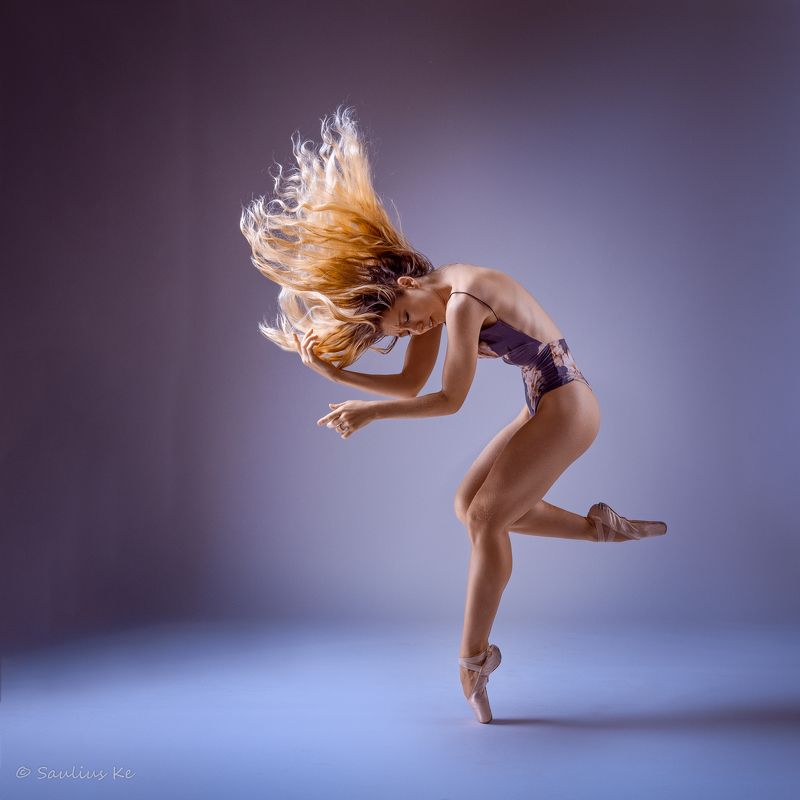 girl, female, pretty, portrait, blonde, studio, ballet, ballerina, dancer Ballet Dancerphoto preview