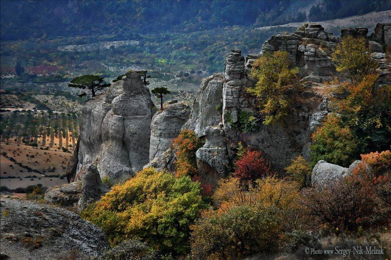 россия, крым, алушта, горы, демерджи «Цветущая» Долина Привидений.photo preview
