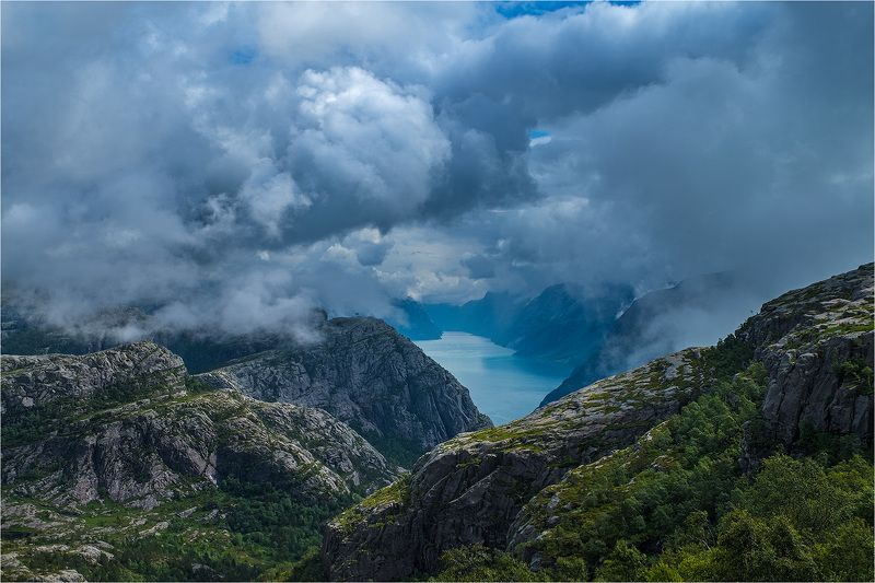 norway, fjord, норвегия, фьорд [fjord]photo preview