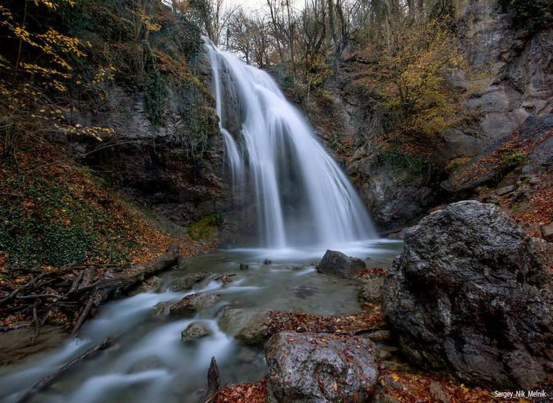 россия, крым, алушта, горы, водопад, джур-джур Поход на дЖур-дЖурphoto preview