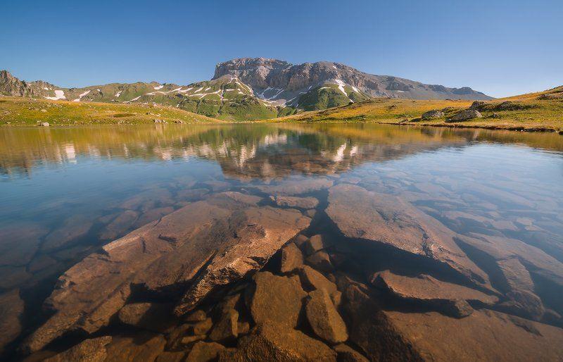 западный кавказ пхия загедан скала пятиозёрье лето Загедан скалаphoto preview