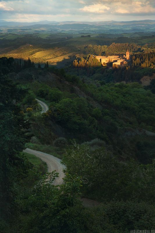 тоскана, природа, путешествие, пейзаж, toskana, италия, italy, landscape, nature Тихое итальянское утроphoto preview