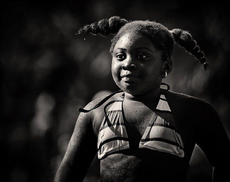 девочка, косички, характер, портрет, ноздри Косичкиphoto preview