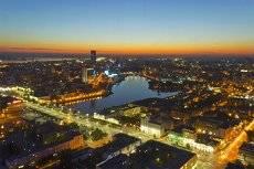 Екатеринбург на закате.