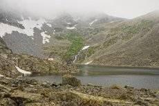Летняя суровость в Алтайских горах.