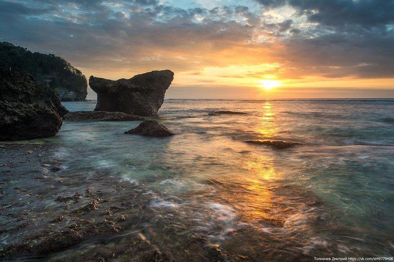закат, море, вечер, пляж, толмачев дмитрий, индонезия, бали, улувату, бингин Вечер на пляже...photo preview