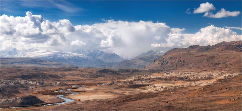 алтай, горы, марс, шамбала, чаган-узун, ючх, южно-чуйский хребет, осень, облака, Ш А М Б А Л Аphoto preview