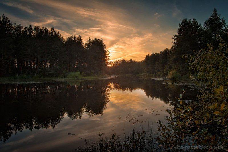 отражения летнего вечера...photo preview