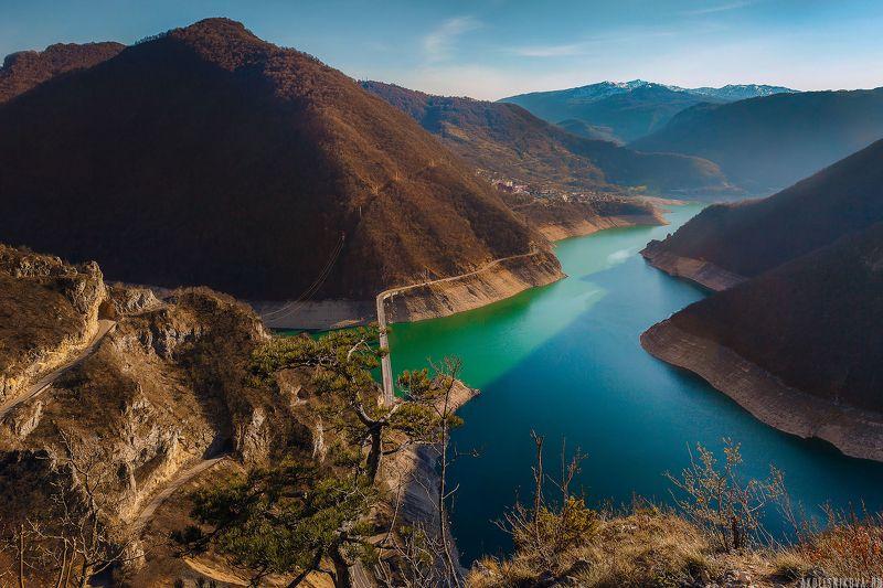 montenegro, landscape, travel, nature, lake, пейзаж, путешествие, черногория, озеро, пивское озеро Lake Pivaphoto preview