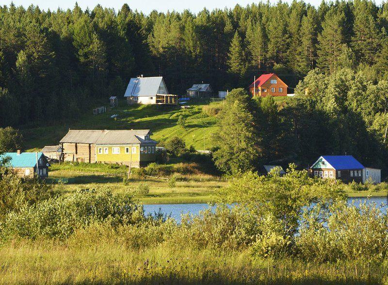 В деревне Андозеро.photo preview
